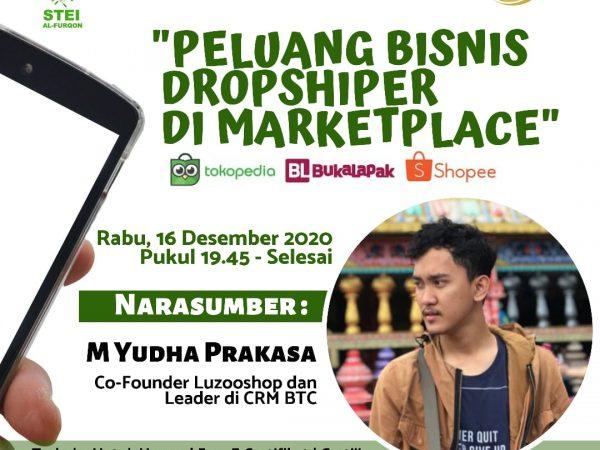 Webinar peluang bisnis dropshipper di marketplace