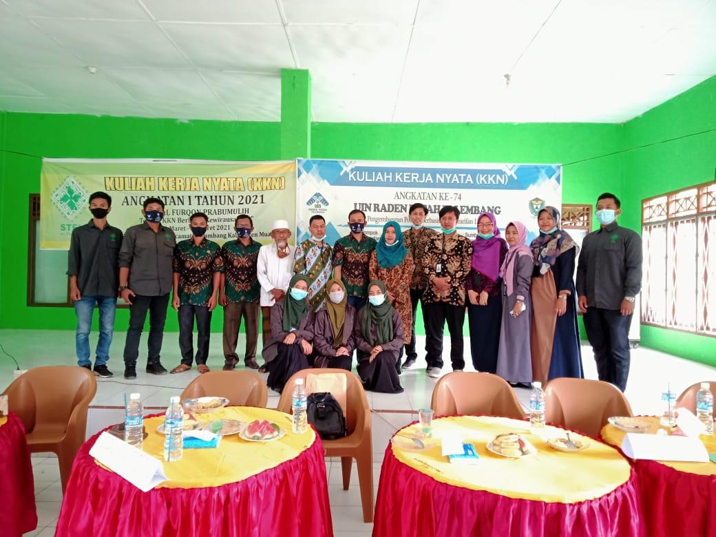 Jemput 32 mahasiswa KKN, Pimpinan STEI Alfurqon ucapkan terimakasih